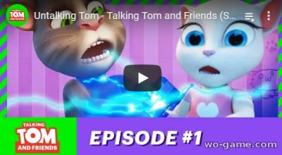 Talking Tom and Friends in English
