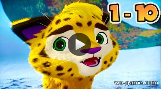 Leo and Tig new series 2018 English All 10 episodes collection Cartoons for children live