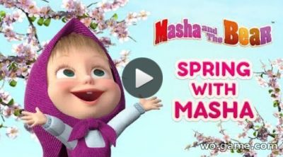 Masha And The Bear in English video