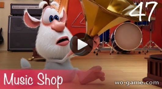 Booba in English Cartoon 2019 Music Shop Episode 47 watch online for infants all episode for free