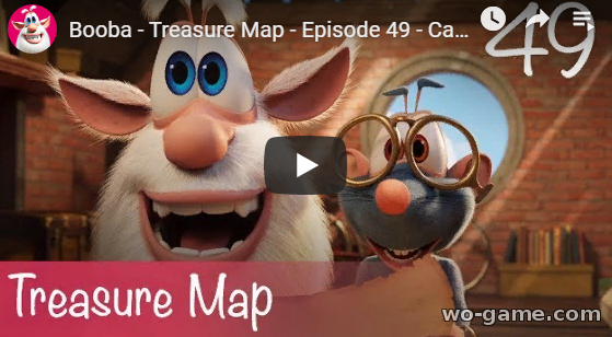Booba in English videos 2019 Treasure Map Episode 49 look online